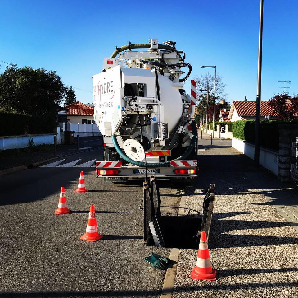 INSPECTION VIDEO canalisation Orthez